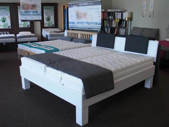 jetzt ausstellungsbetten stark reduziert schlafsysteme kruse. Black Bedroom Furniture Sets. Home Design Ideas